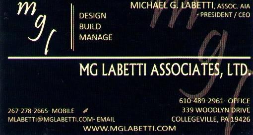 MG Labetti card