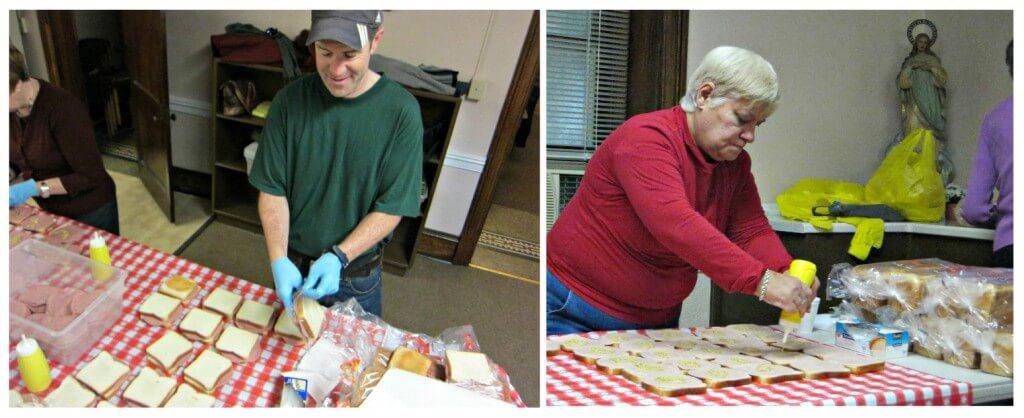 Sandwiches scene 2 collage