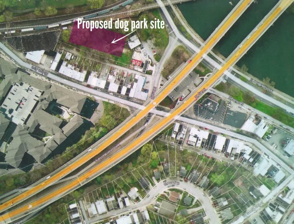 proposed dog park site aerial 2 PM