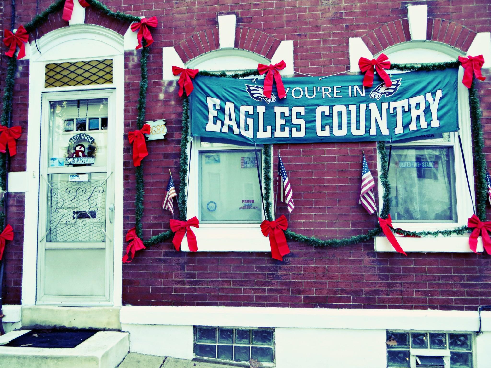 East Falls Local 12-10 eagles country xmas calumet