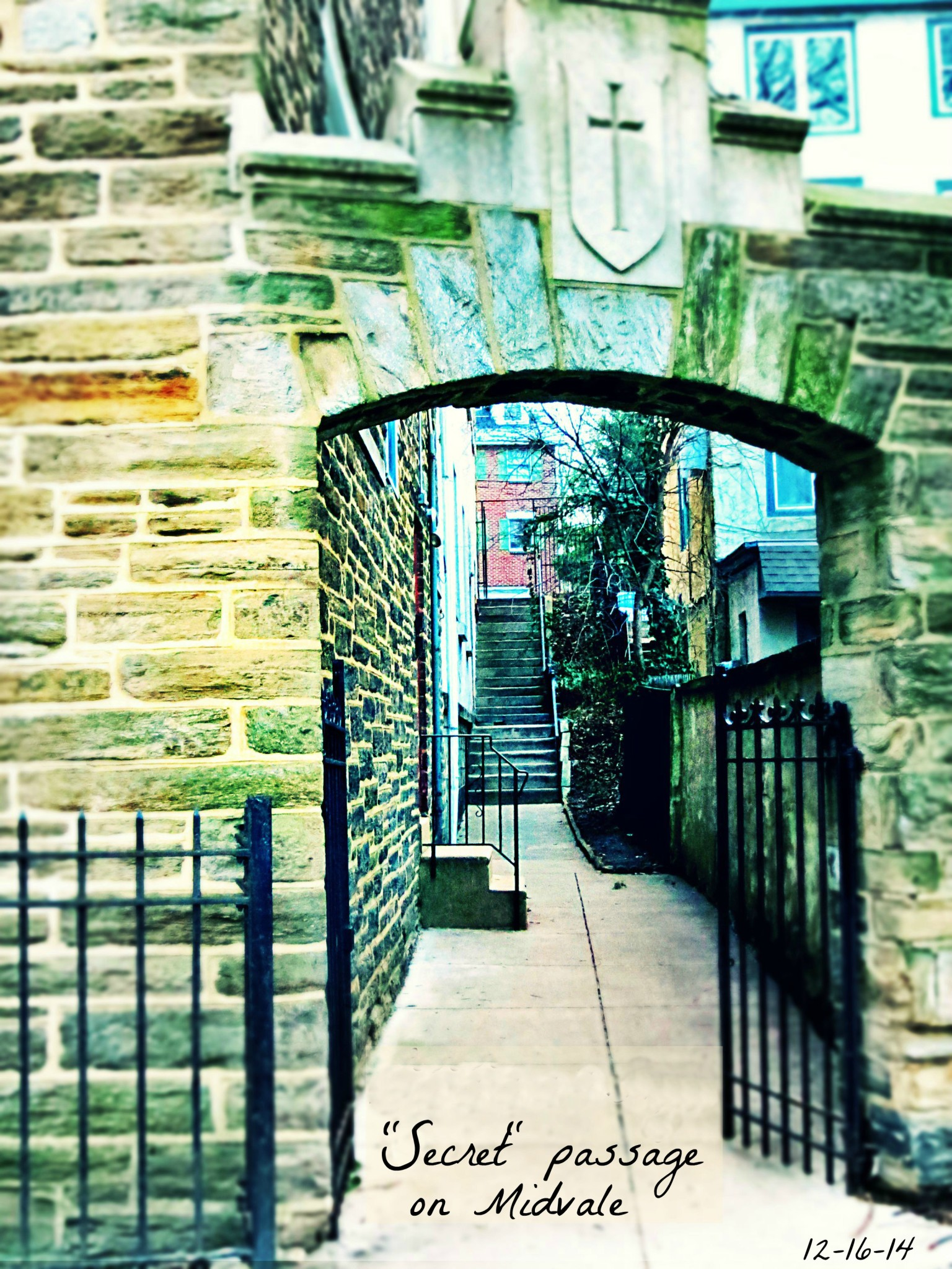 East Falls Local 12-16 baptist church arch