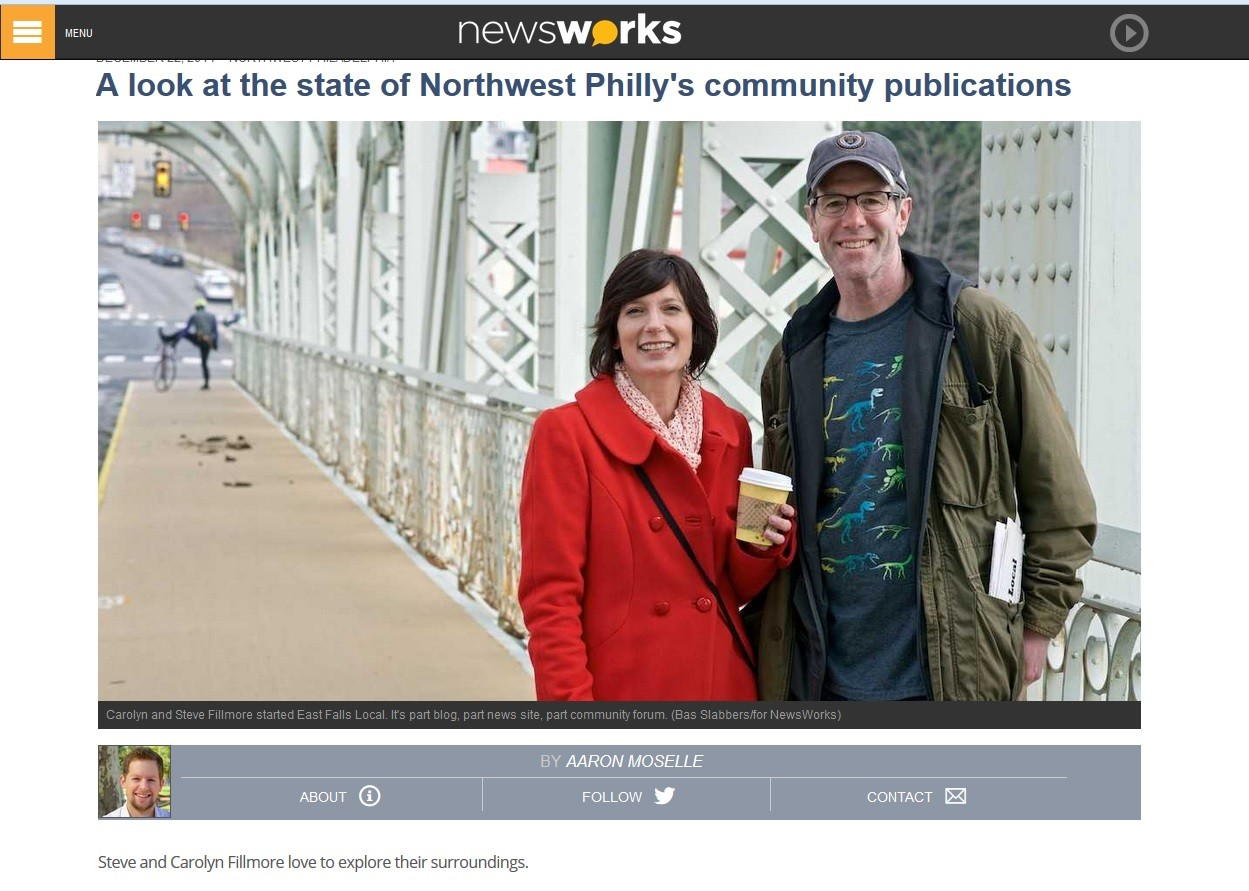 East Falls Local newsworks article image