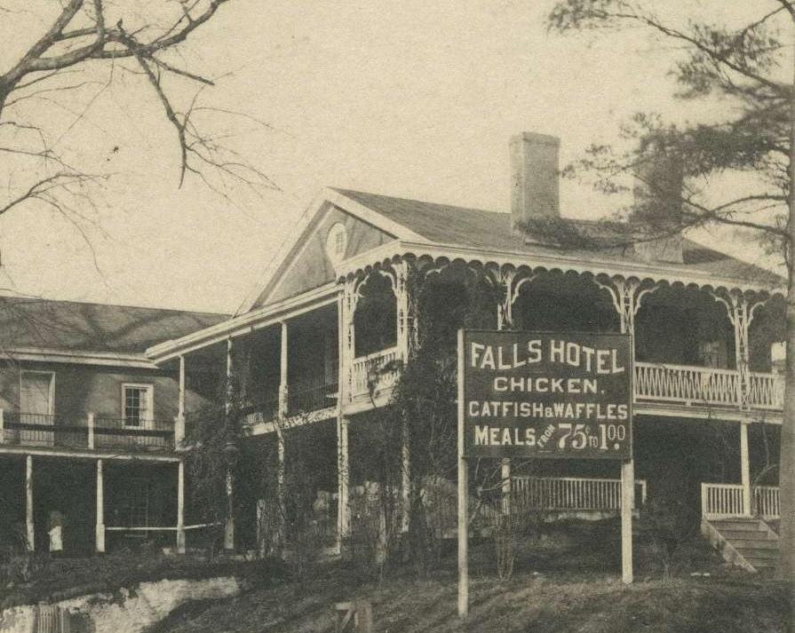East Falls Local.Falls hotel catfish waffles