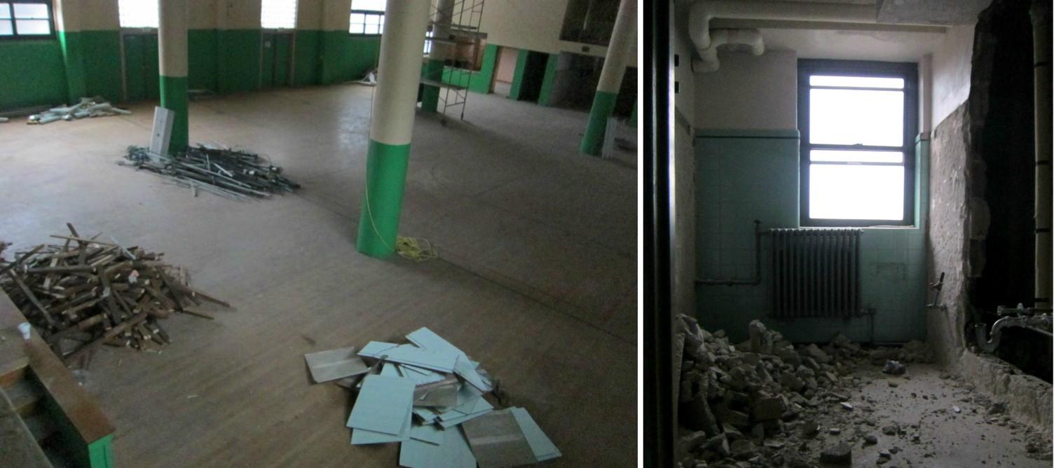 EastFallsLocal gym bathroom collage