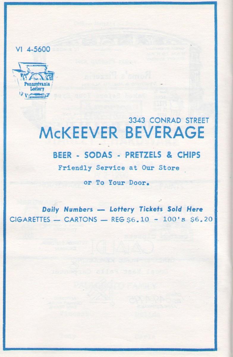 McKeever beverage