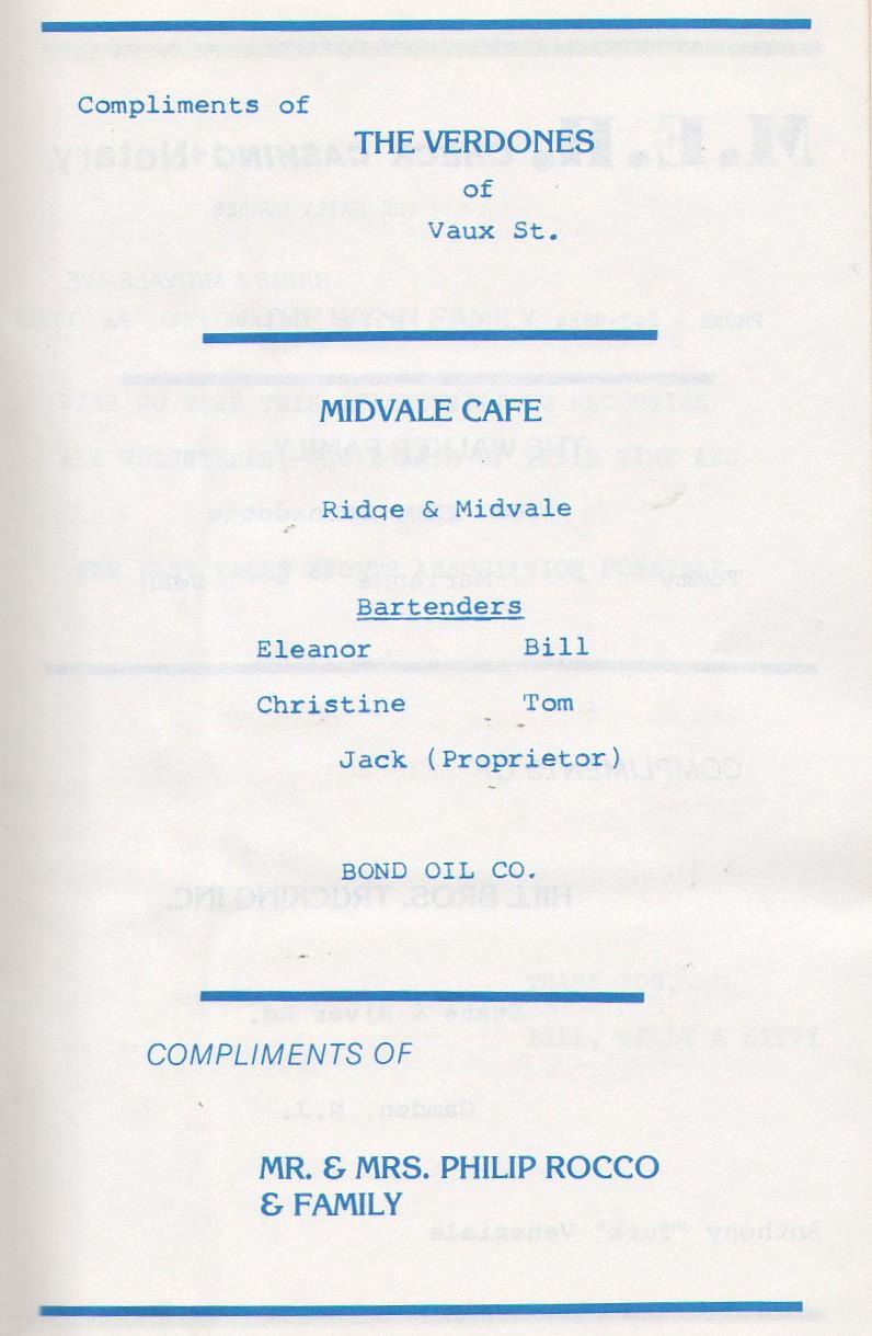 Midvale cafe