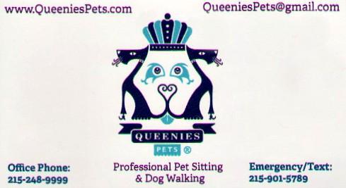 Queenies pets card