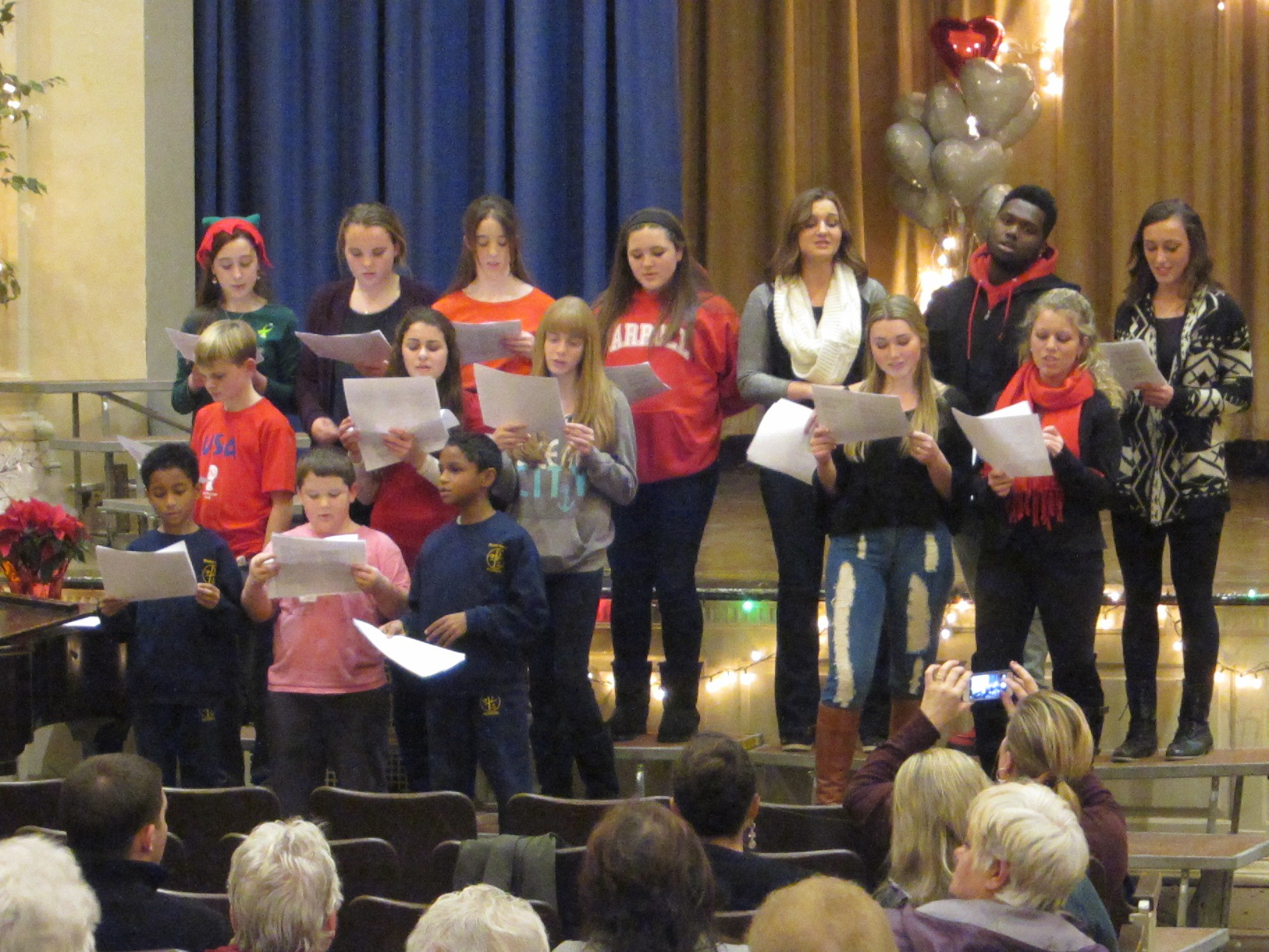 St Bridgets Teen Choir 3