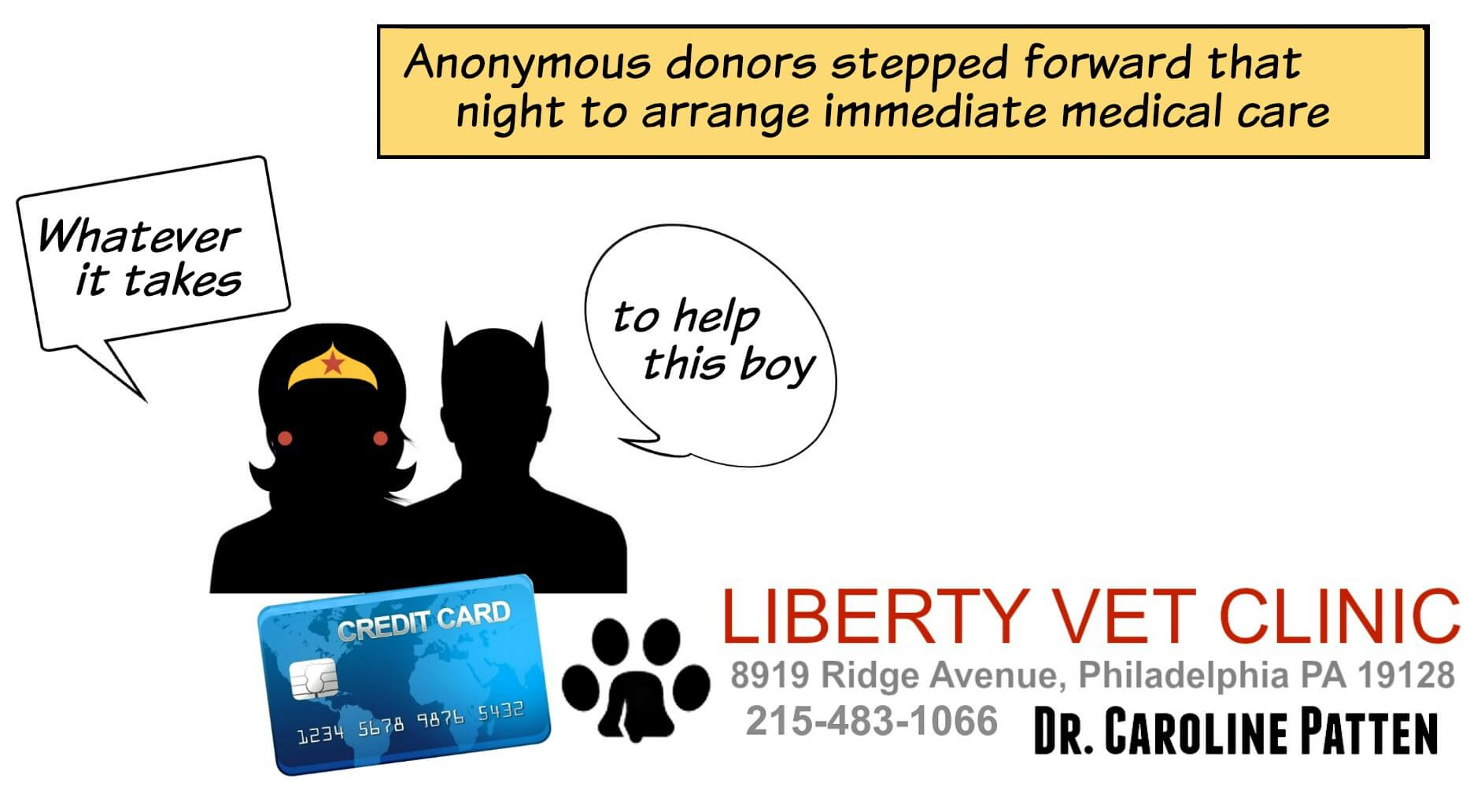 East Falls Local 1-14 liberty vet logo rescuers comic