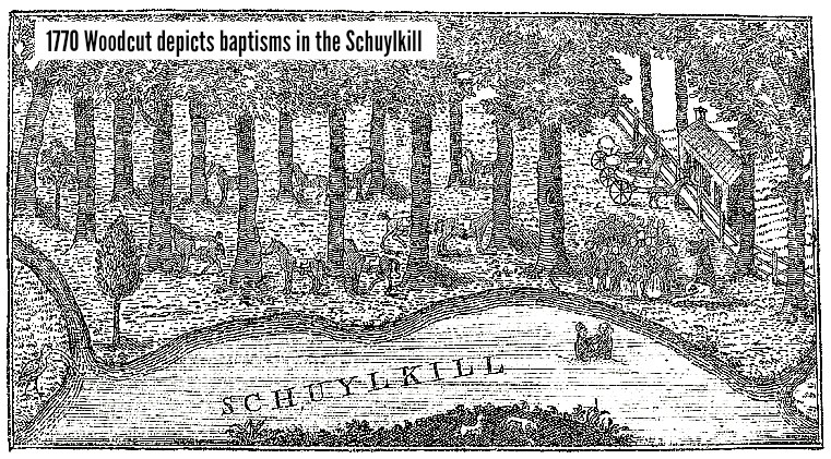 East Falls Local 1770 woodcut of schuylkill