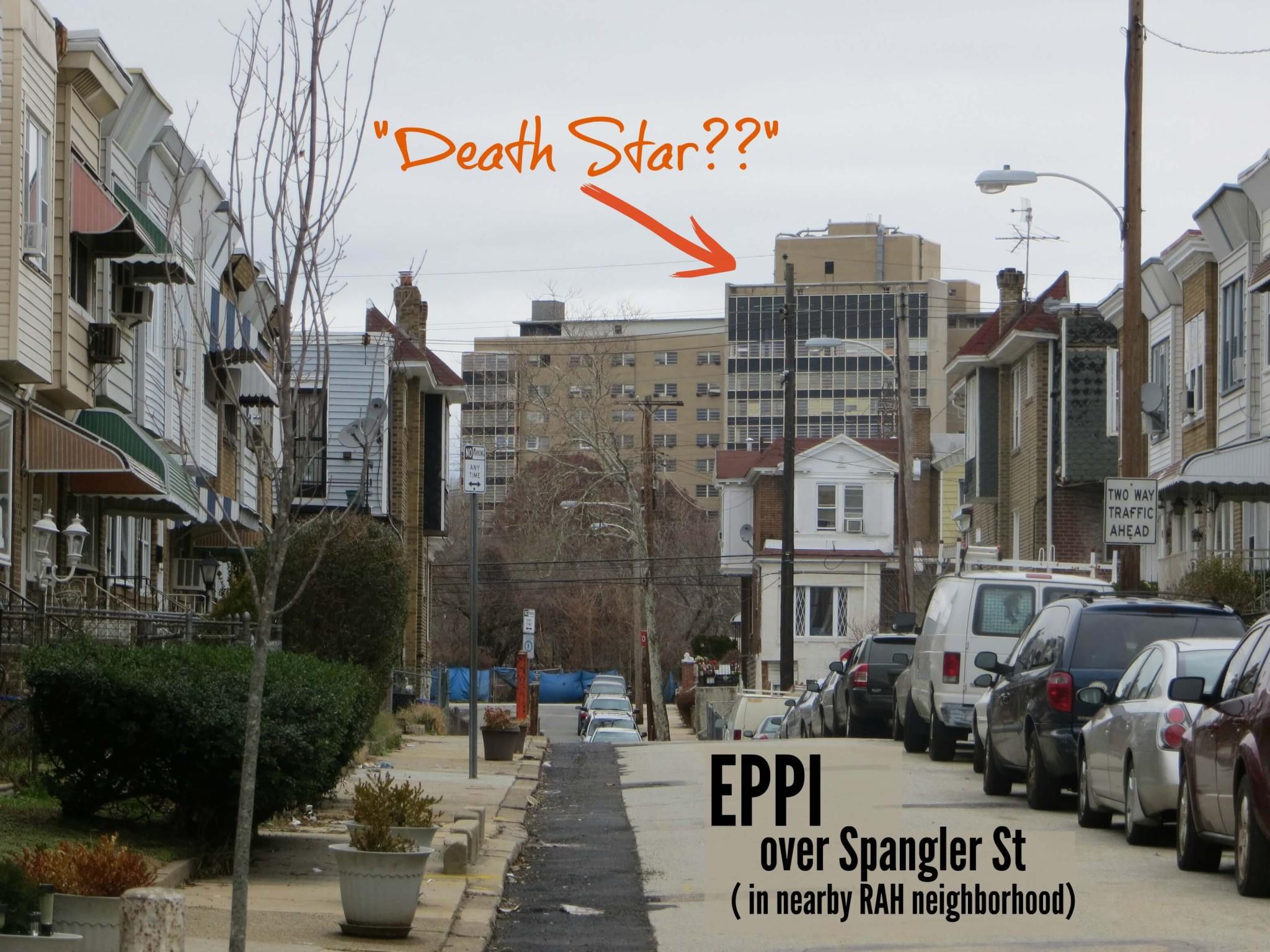 East Falls Local Eppi over Roses street