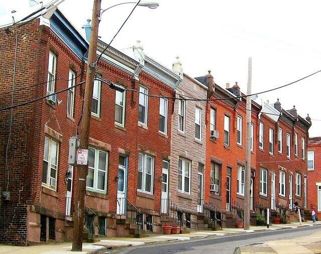 East Falls Local Stanton street houses