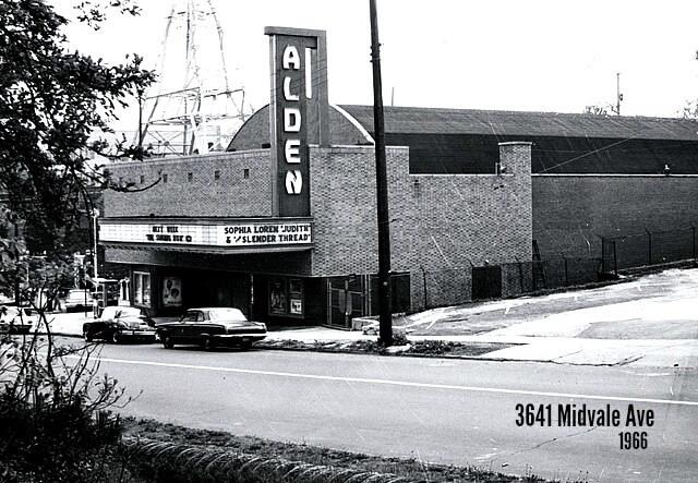 EastFallsLocal Alden theatre 1966