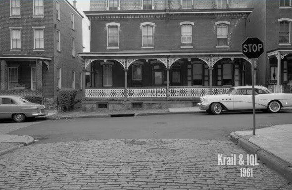 EastFallsLocal intersection of Krail and IQL 1961