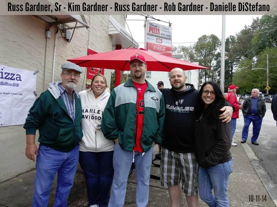 EastFallsLocal russ family Kim Gardner Russ Gardner Rob Gardner Danielle DiStefano