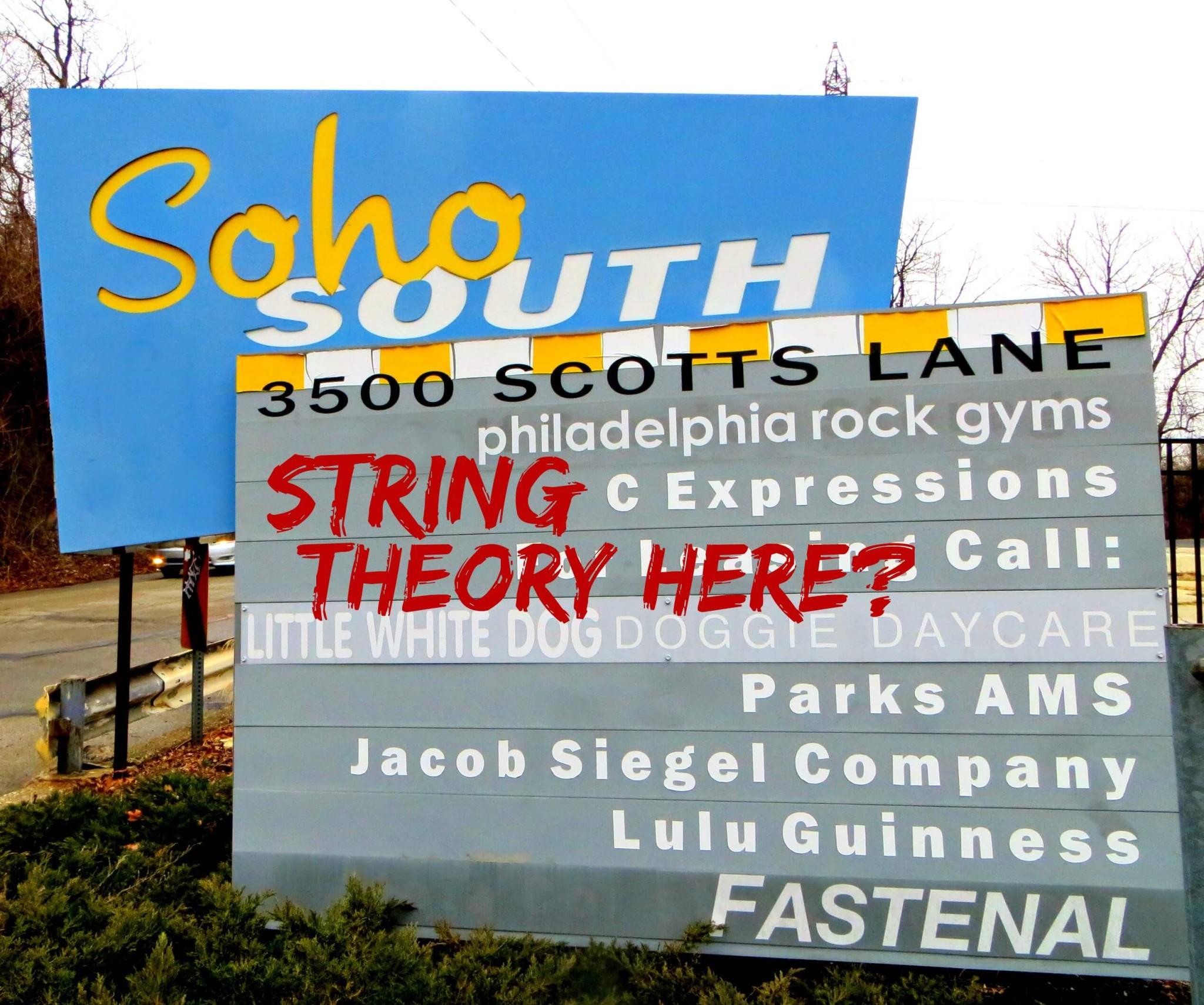 East Falls Local 2-9 SoHo South sign scotts lane