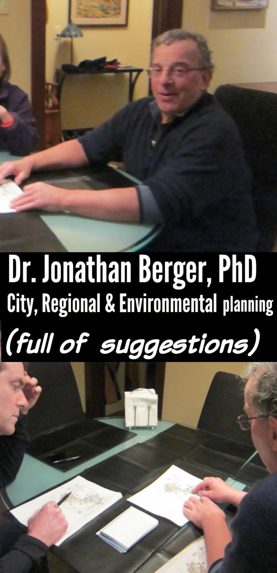 East Falls Local Dr Berger full of suggestions