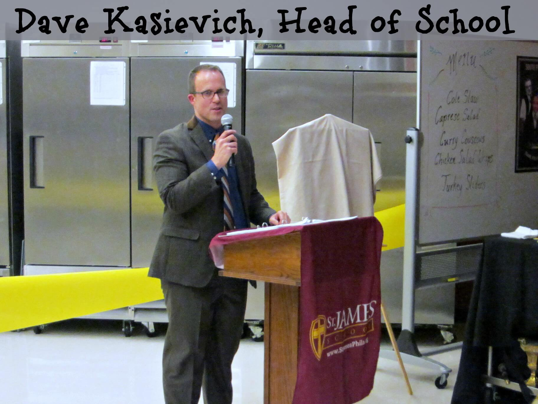 East Falls Local St James Neighborhood Kitchen 2-11 Dave Kasievich head of school text