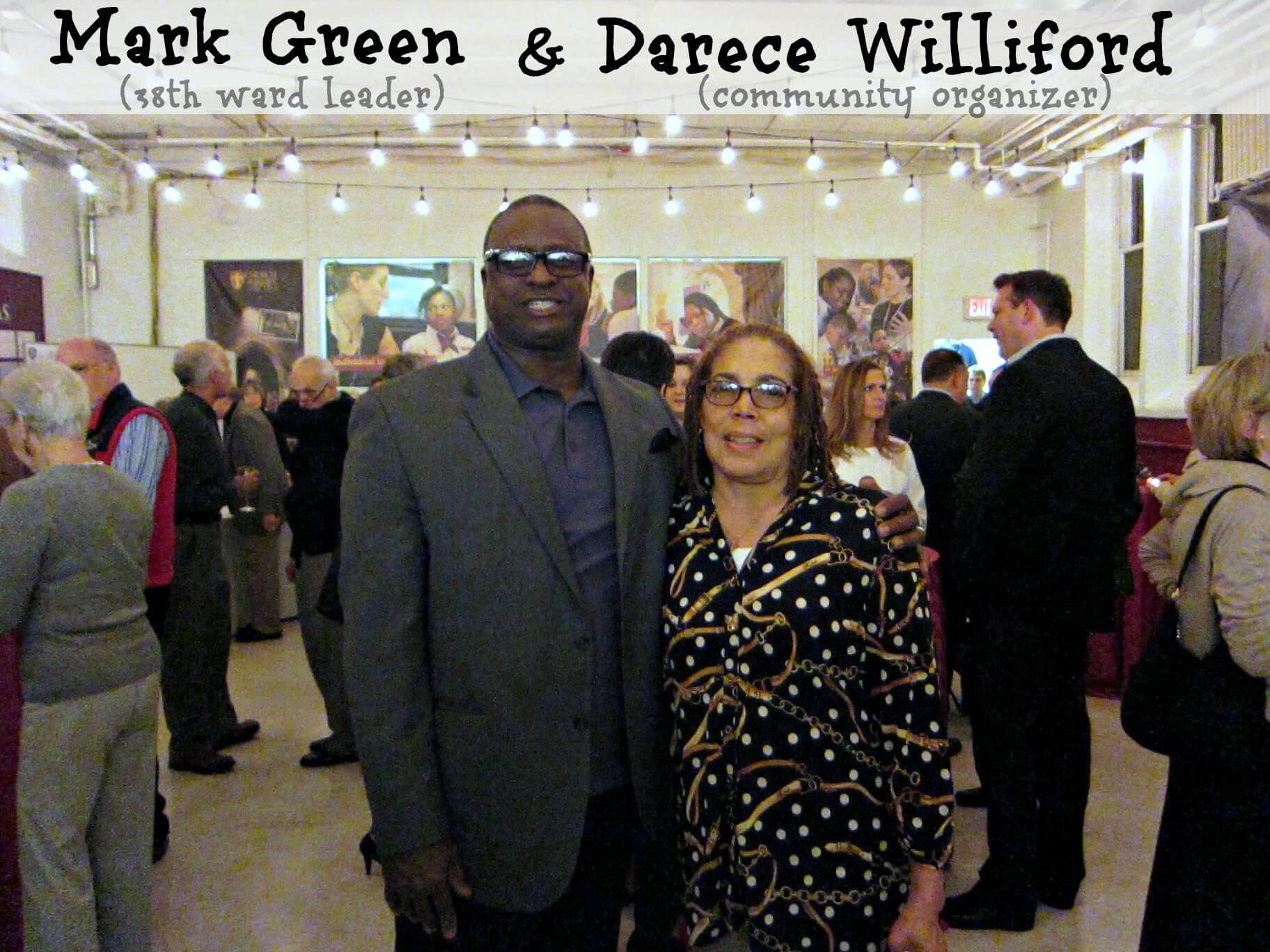 East Falls Local St James Neighborhood Kitchen 2-11 Mark Green with Darece Williford text