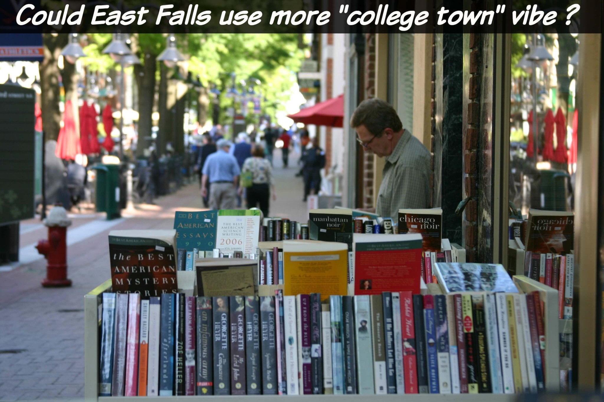 East Falls Local college town