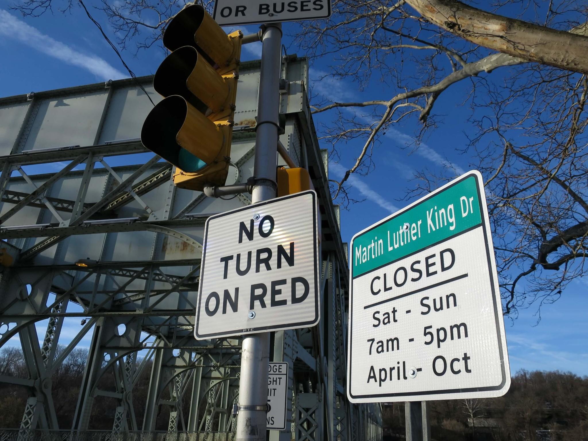 EastFallsLocal MLK drive sign close