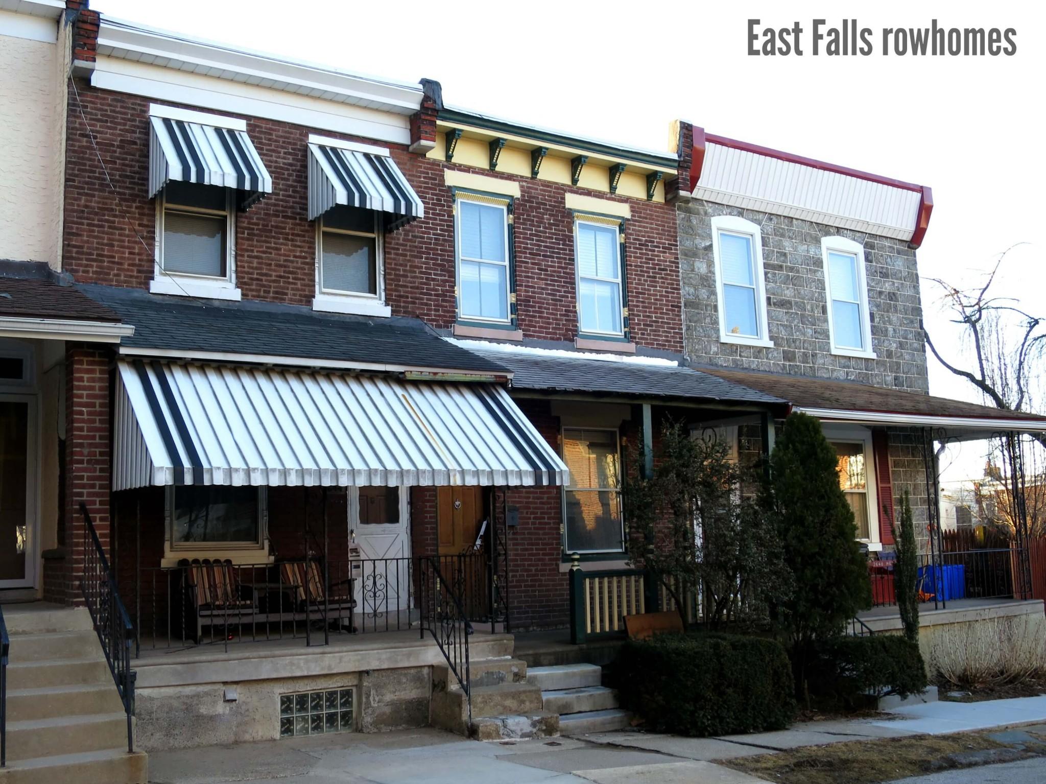 EastFallsLocal 3-12 Merrick rowhomes triple