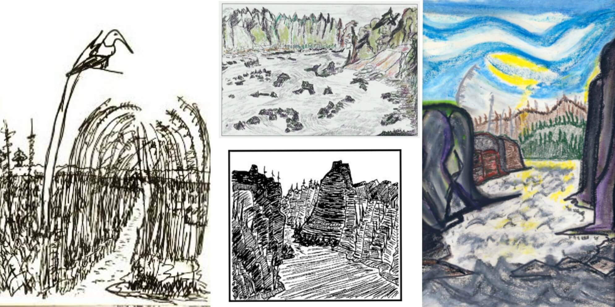 EastFallsLocal Berger Sketch COLLAGE 2