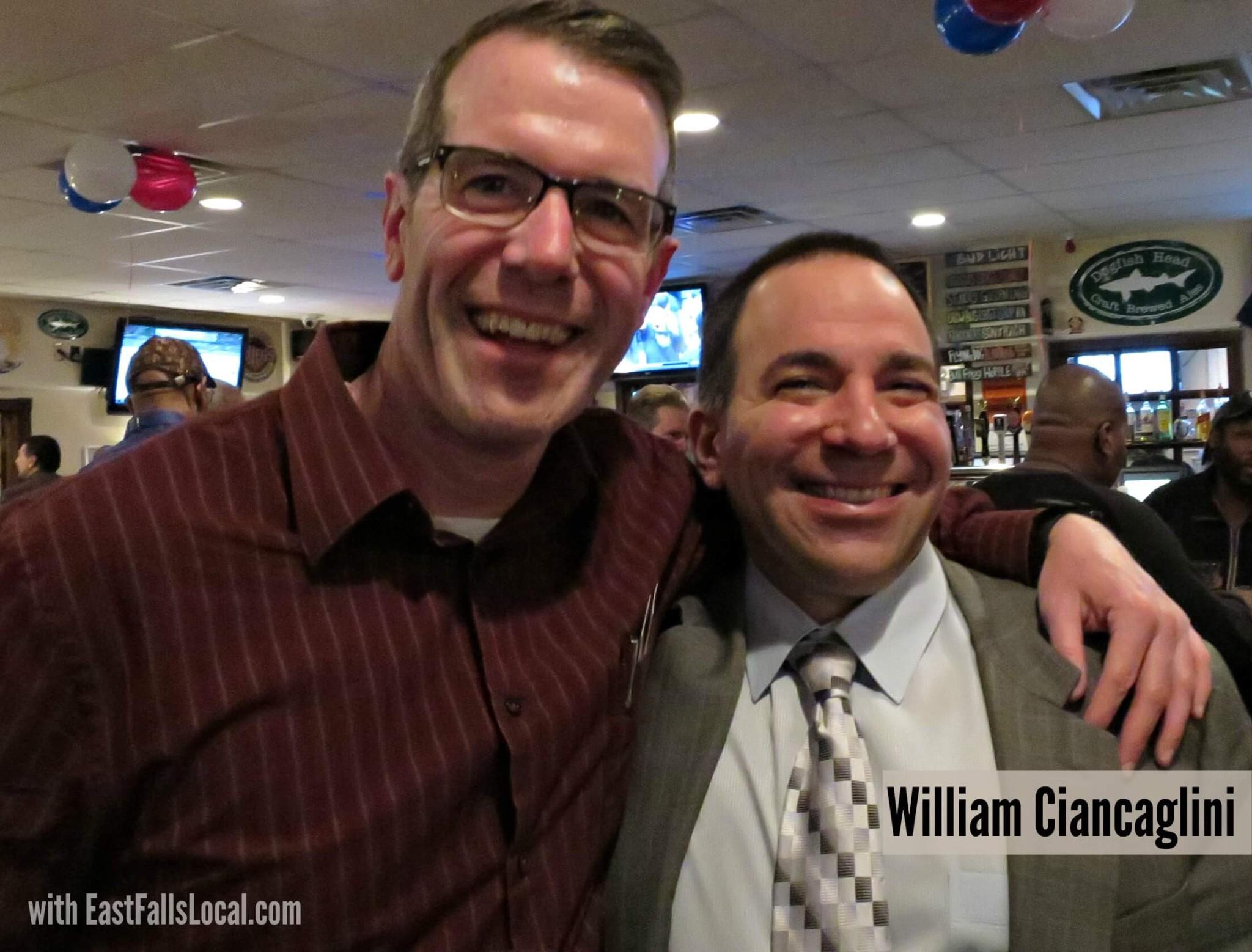 EastFallsLocal steve and bill ciancaglini smile