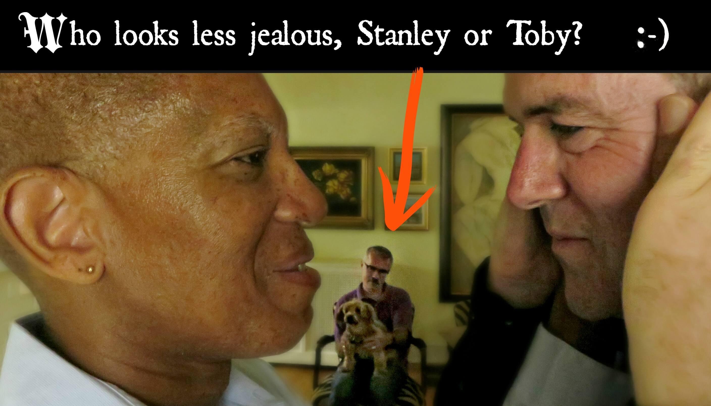 EastFallsLocal Larry Steve face intense stanley ugh STANLEY TOBY TEXT 2