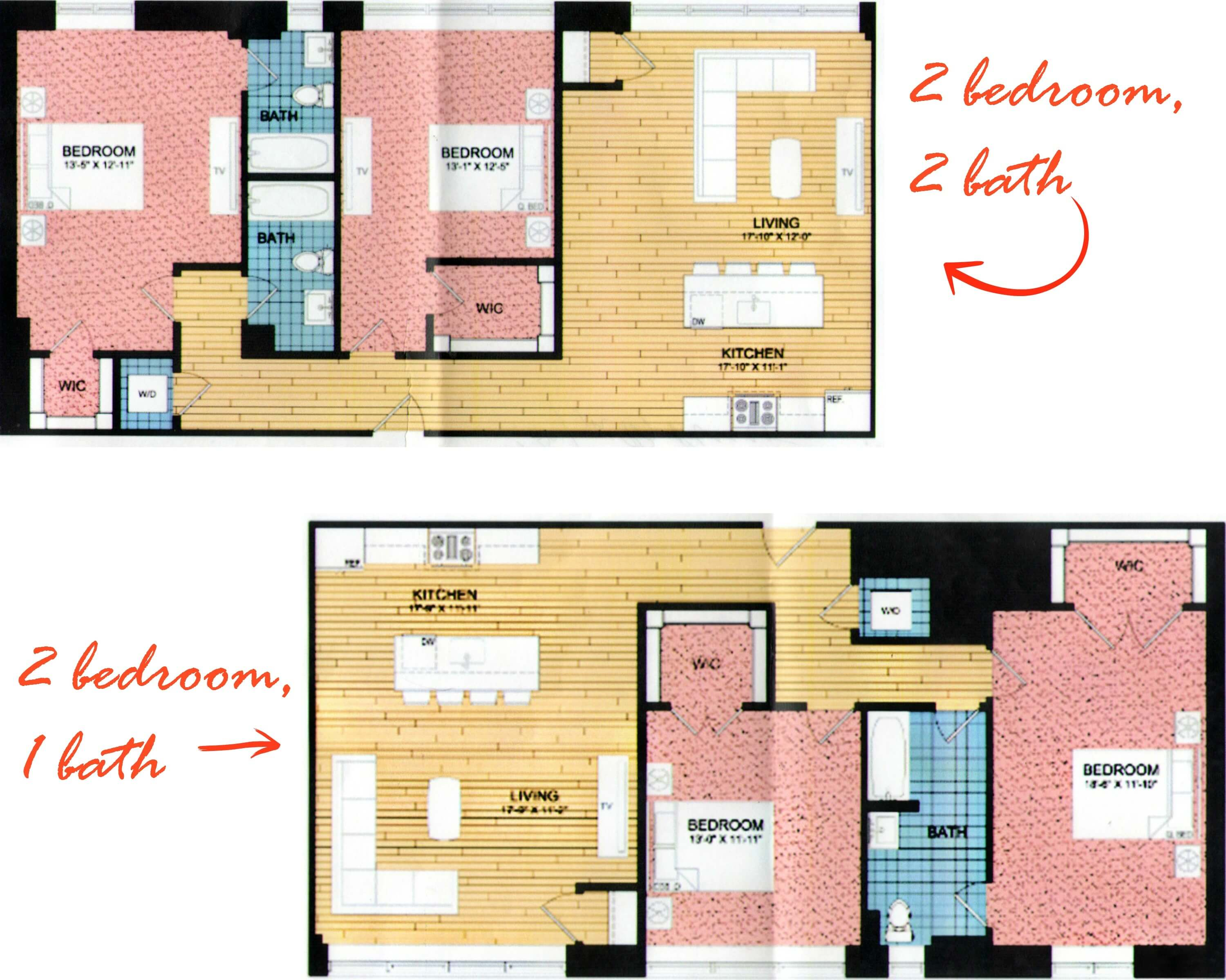 Eastfallslocal 2 bedroom collage text
