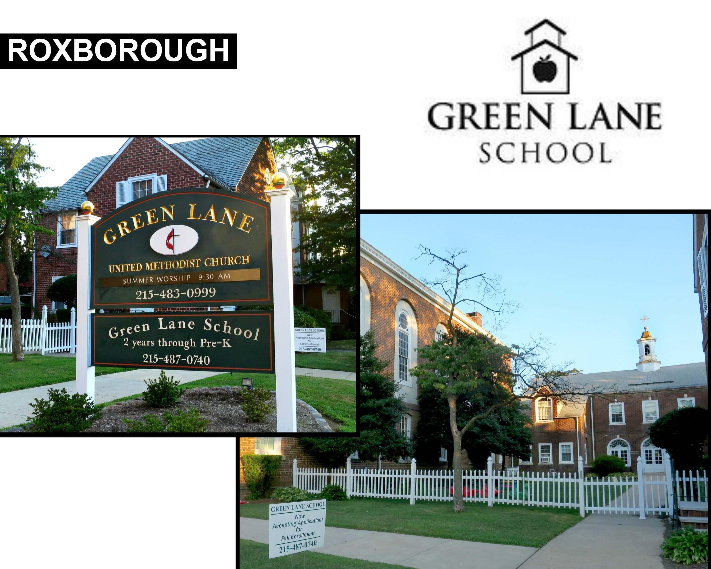 Eastfallslocal Green Lane collage text