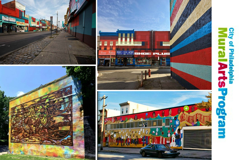 Eastfallslocal mural arts collage