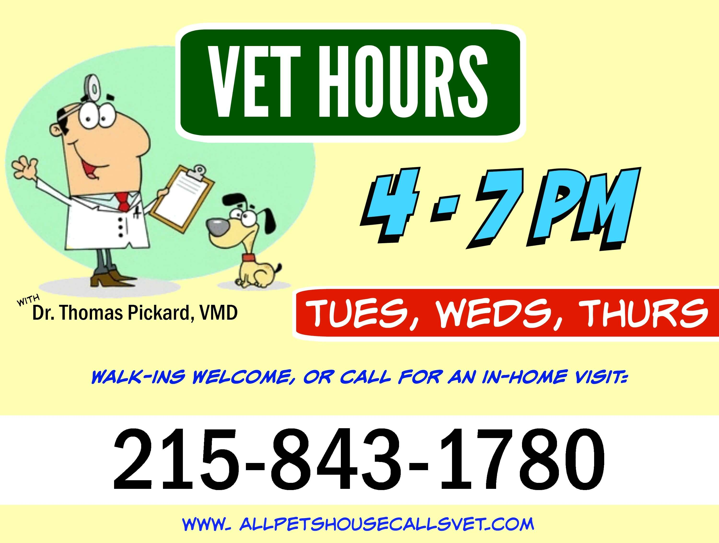 Eastfallslocal Pet STreet vet hours number collage text 2