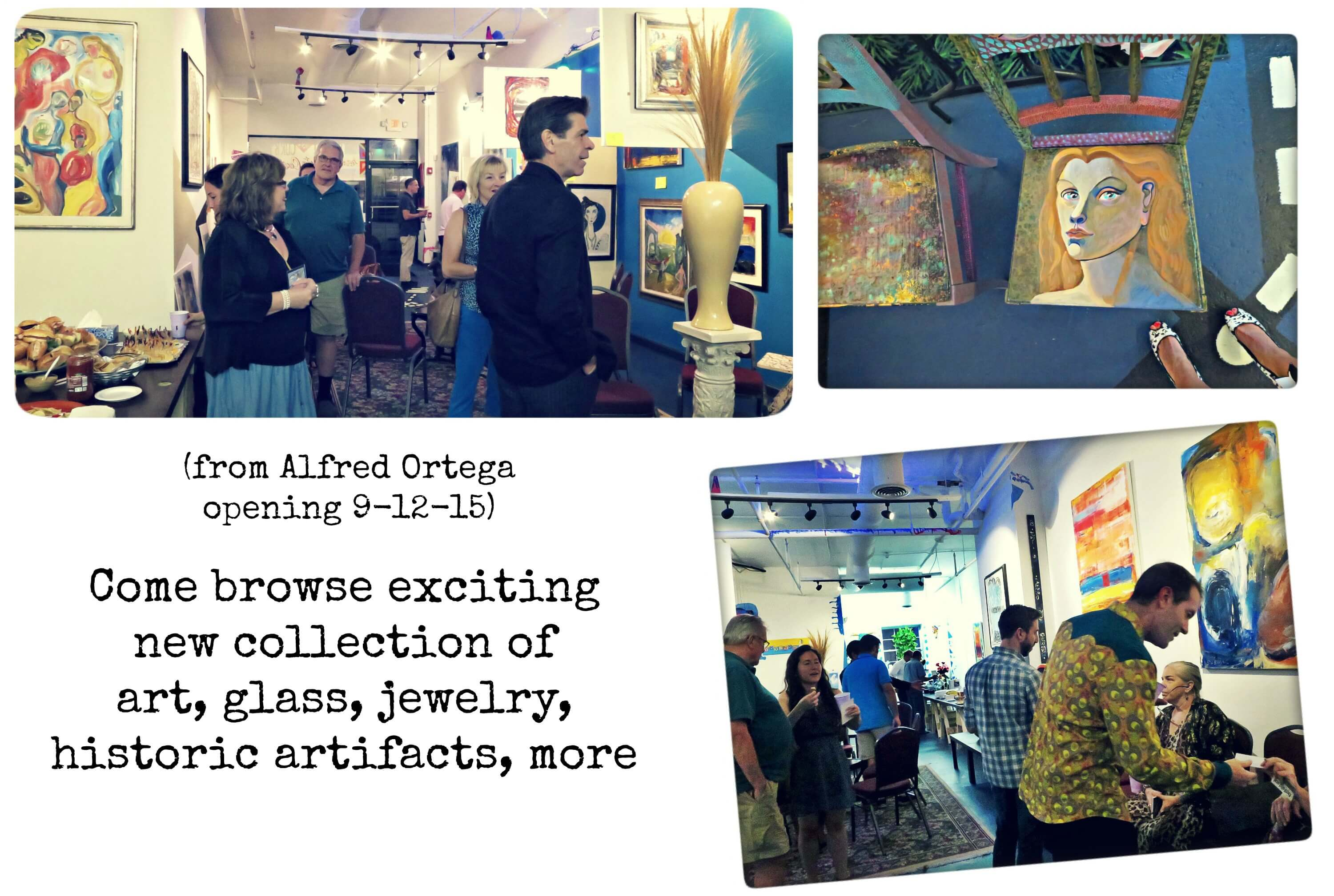 EastFallslocal collage art gallery
