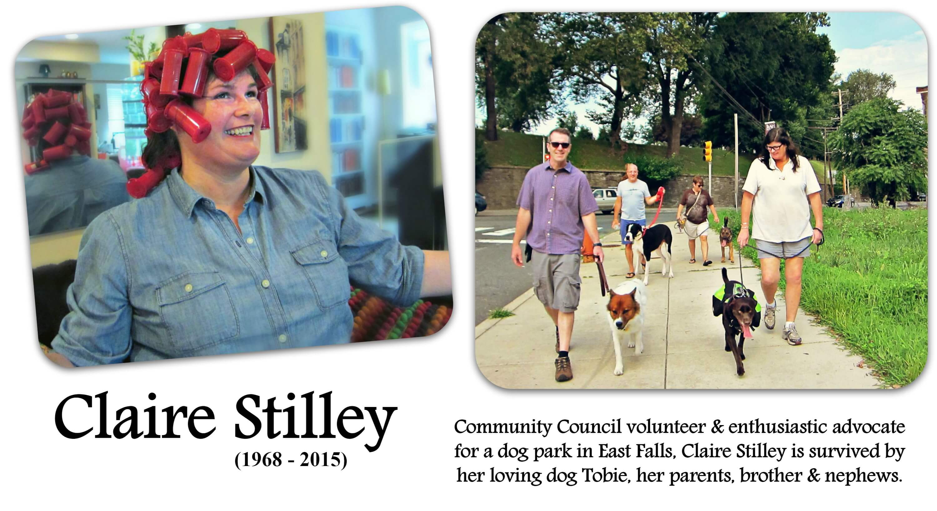 EastFallsLocal claire collage text