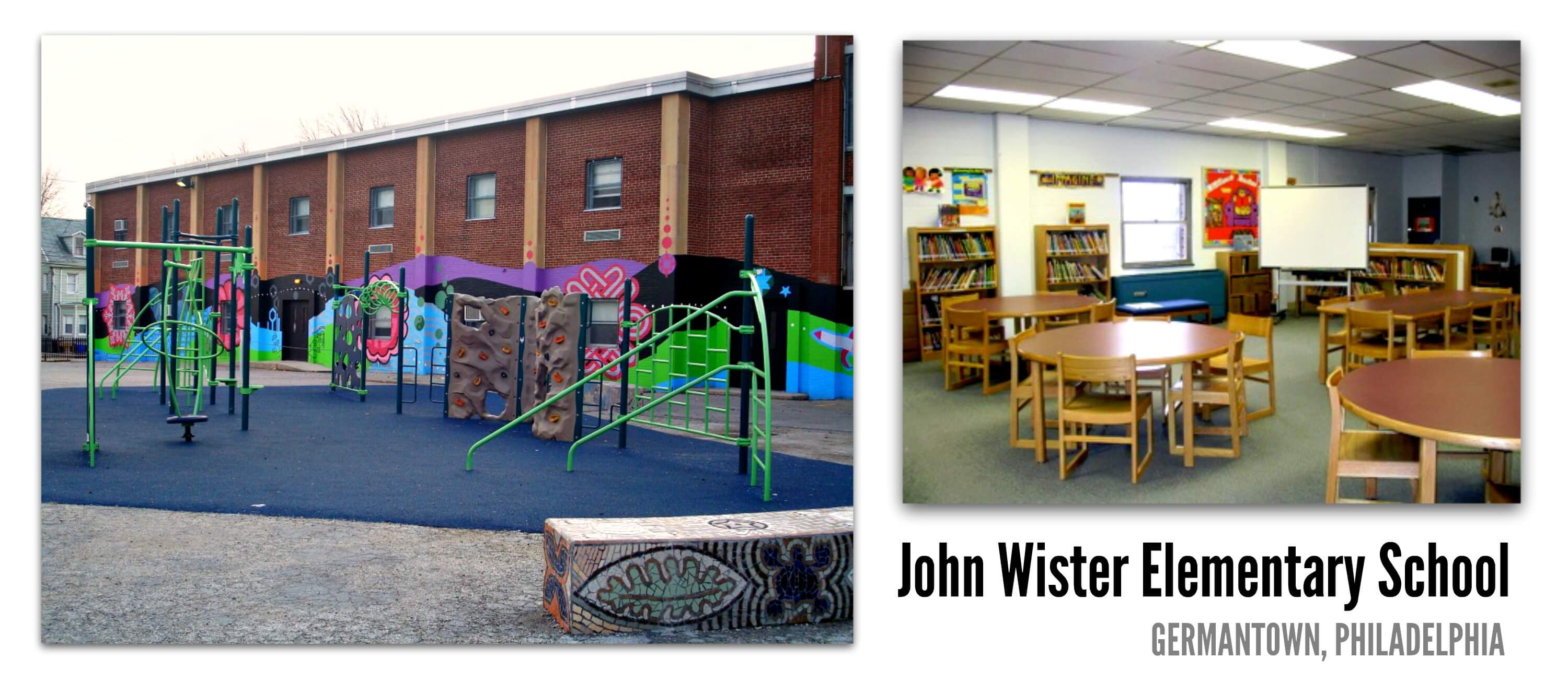 Eastfallslocal John Wister Elementary School collage