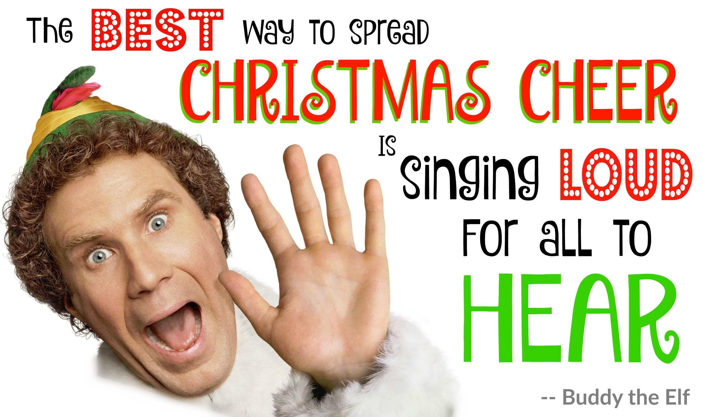 Eastfallslocal buddy the elf meme tues dec 22nd old school caroling with st bridget's teen choir