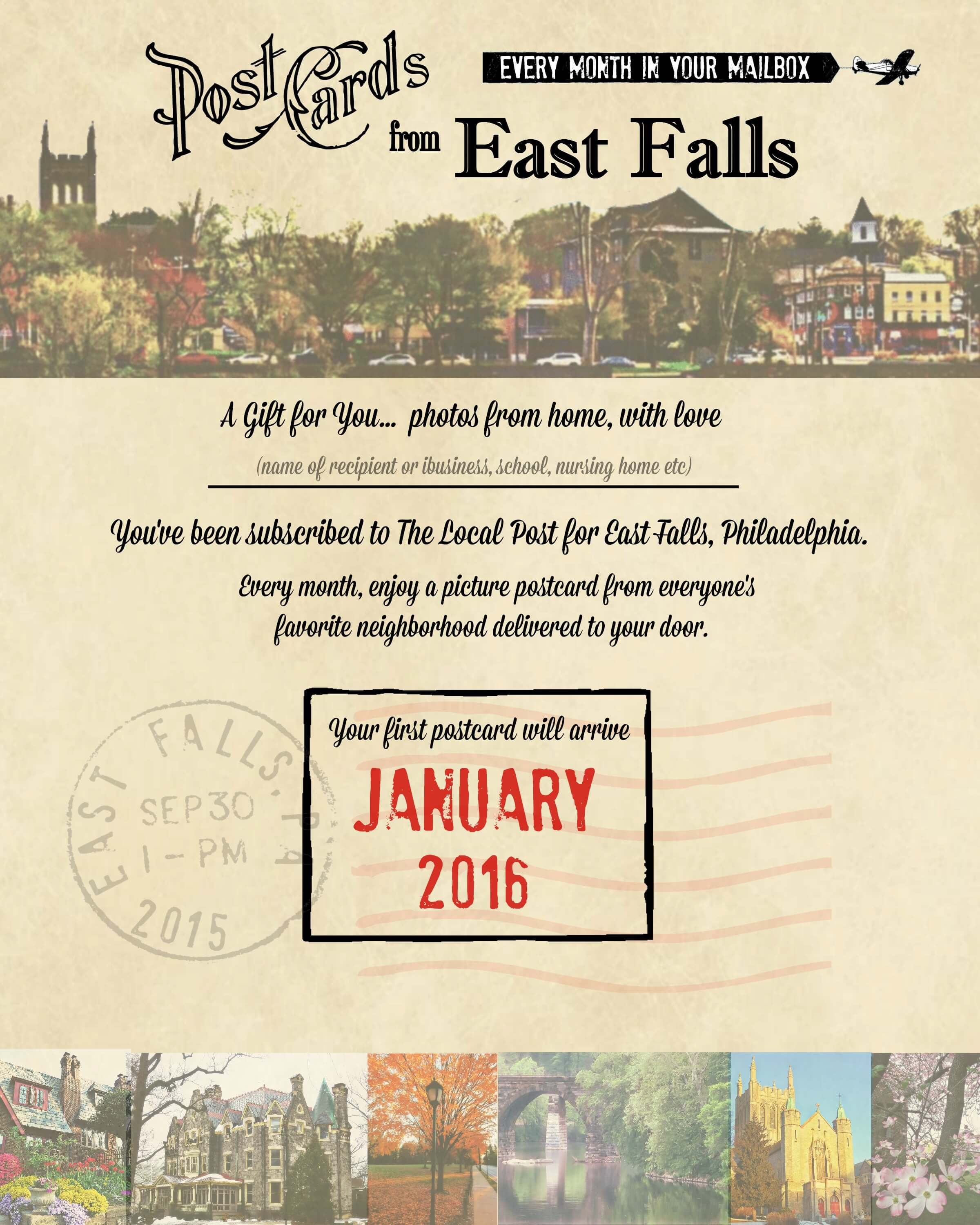 eastfallslocal postcards from east falls cert paparus blank name line with text