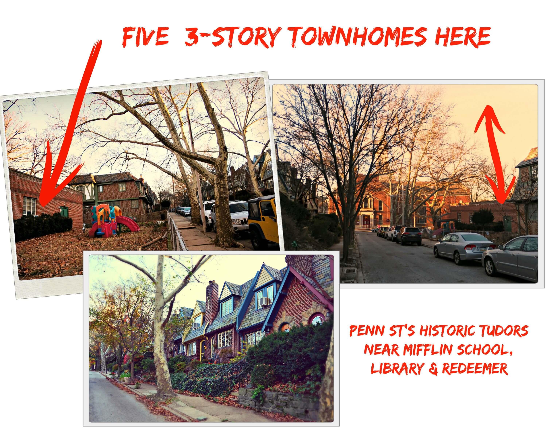 Eastfallslocal Redeemer collage penn street arrows text