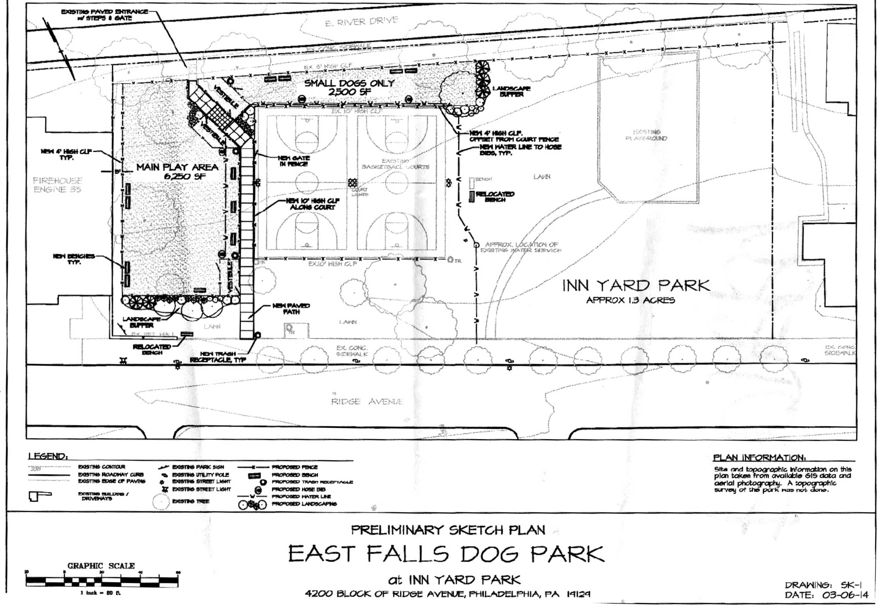 Eastfallslocal east falls dog park Inn Yard Park 2-14