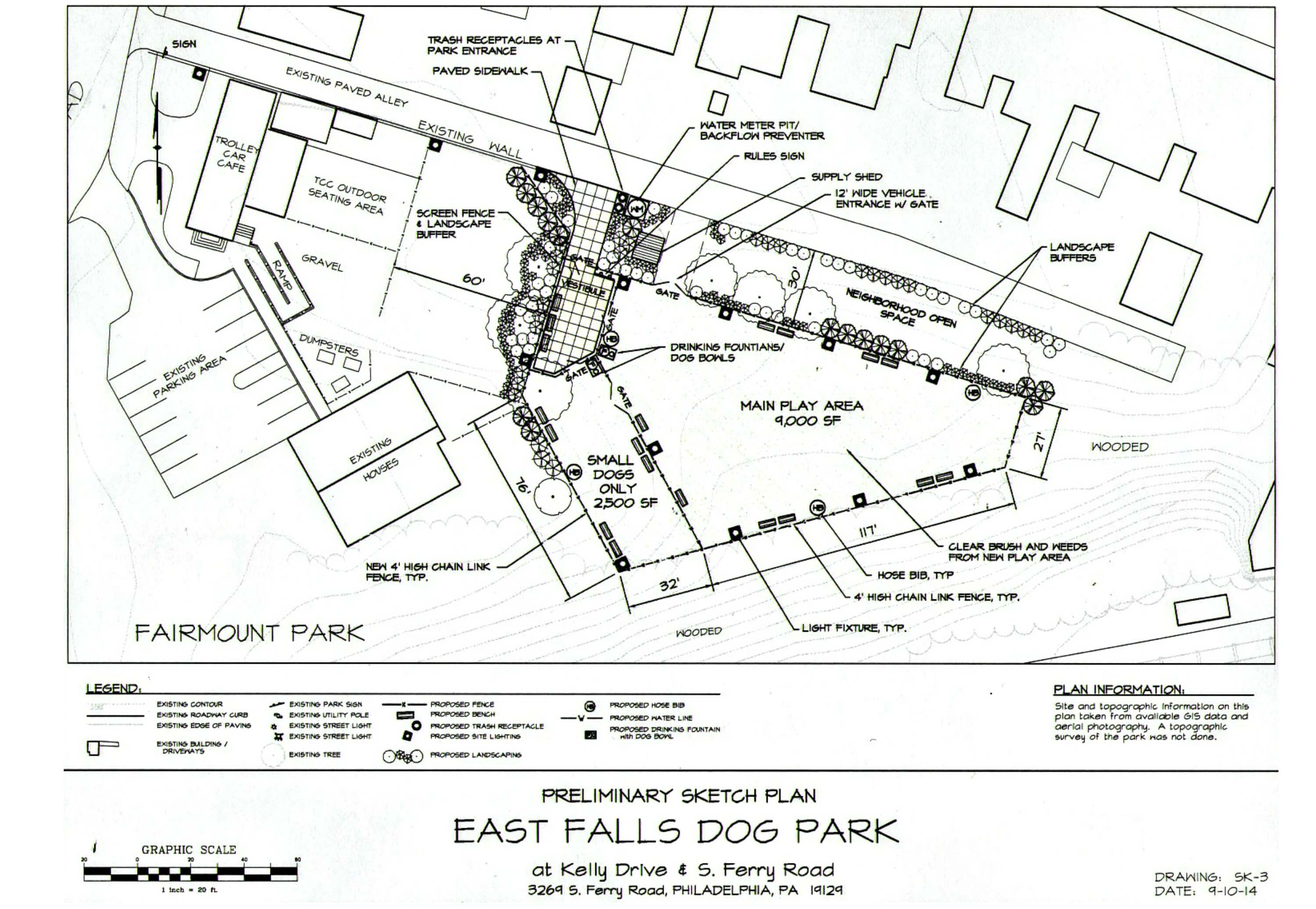 Eastfallslocal trolley car proposed dog park site aerial rendering resize