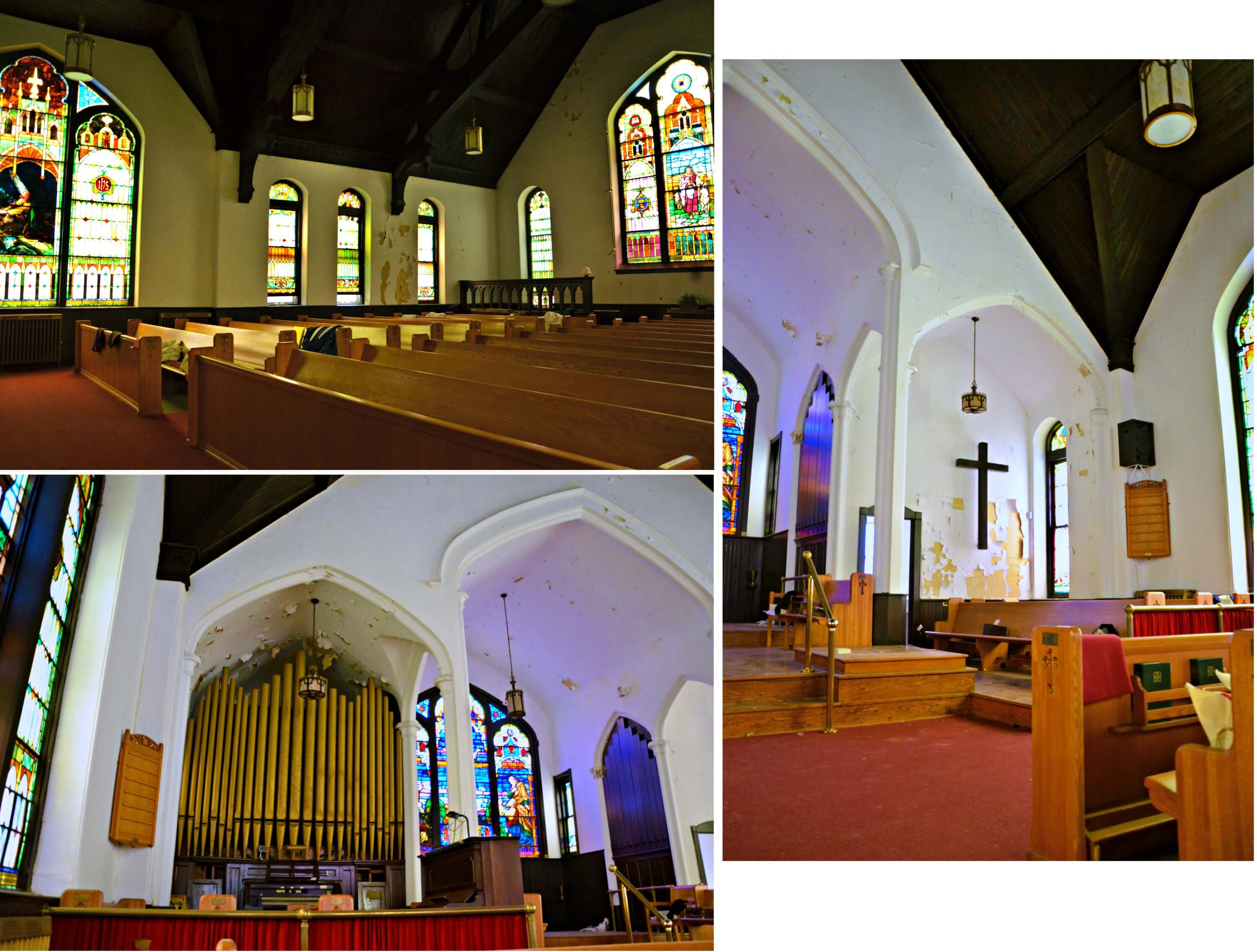 Redeemer Church collage inside