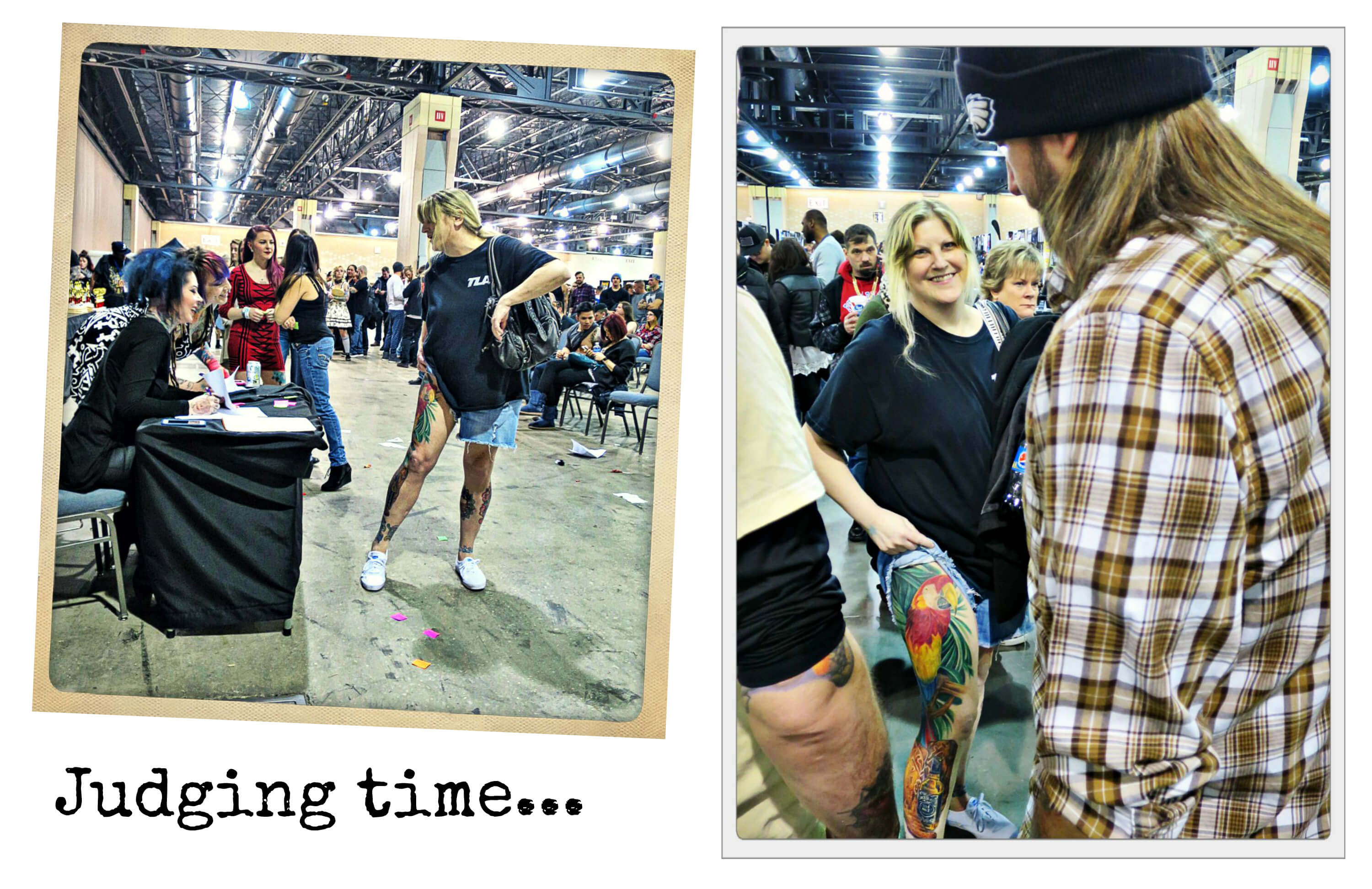 EastFallsLocal collage update Phila Tattoo Convention judging time