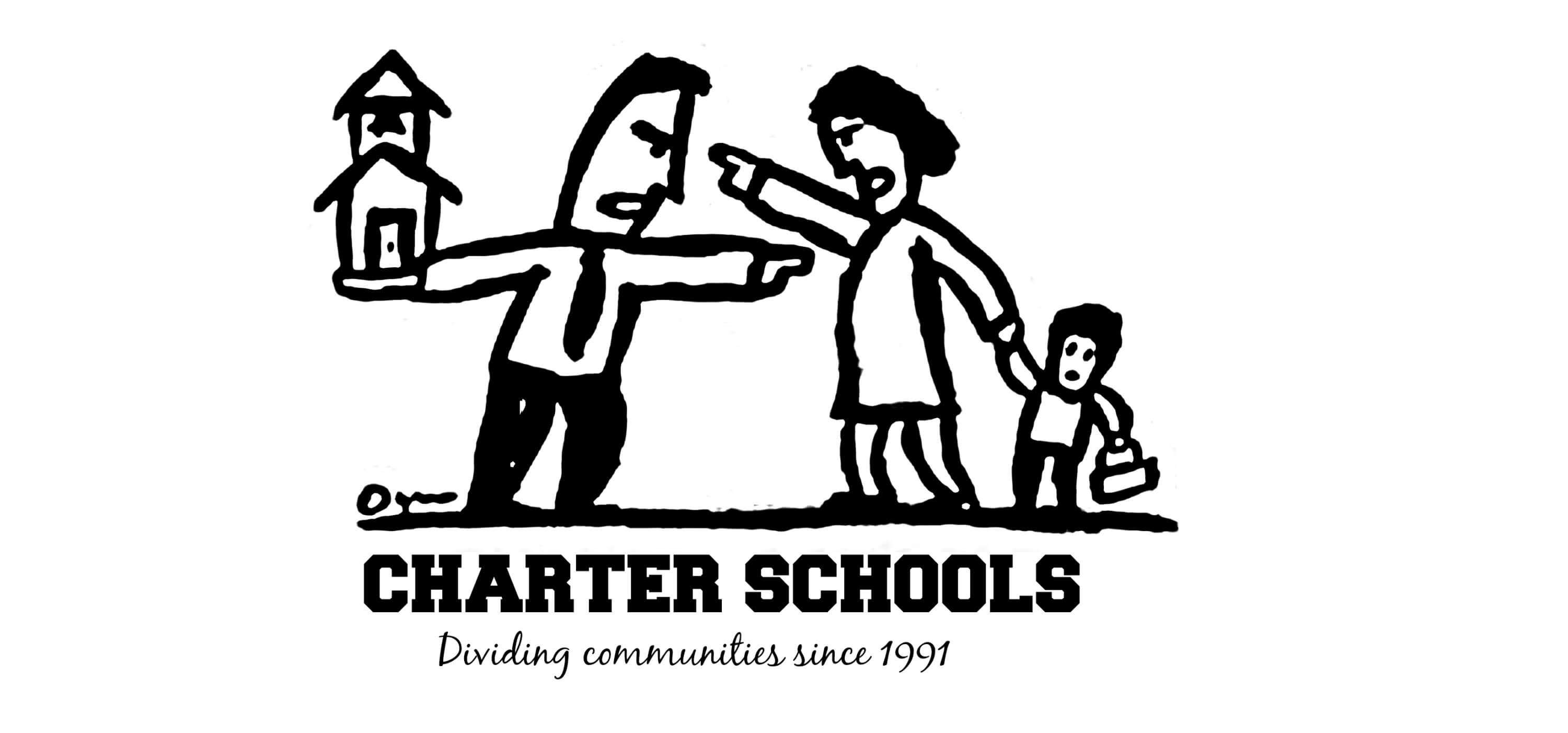 Eastfallslocal charter schools dividing communities meme