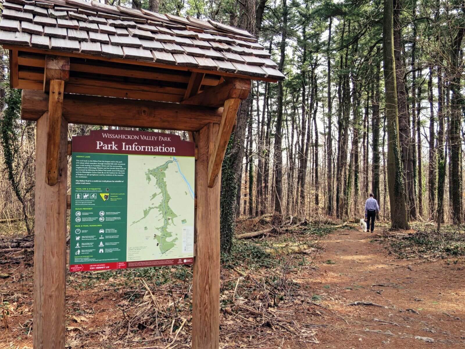 EastFallsLocal 3-8 henry ave hermit lane sign steve ducky wood trail 2