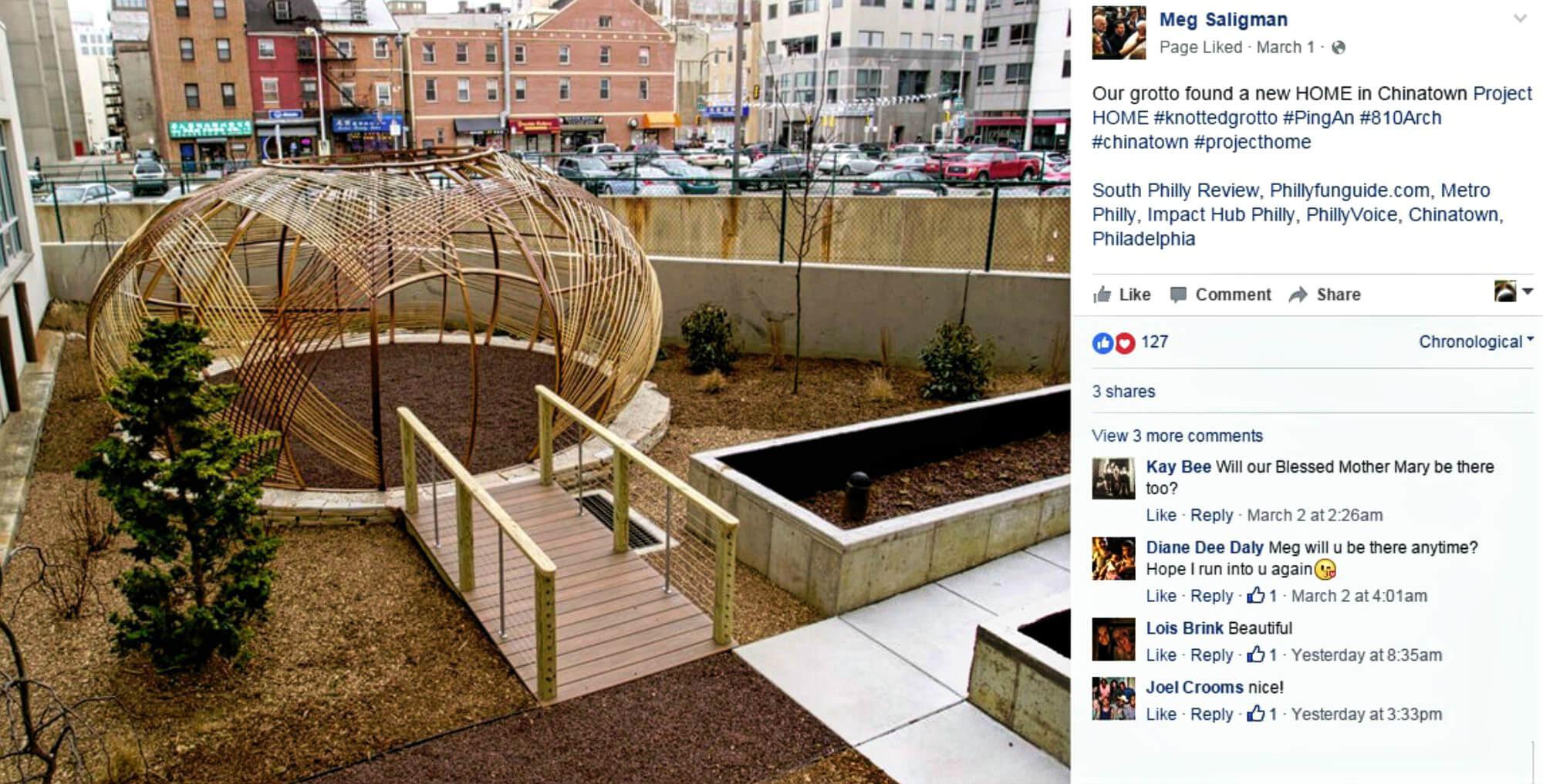 EastFallsLocal March Megs Facebook screen shot crop px
