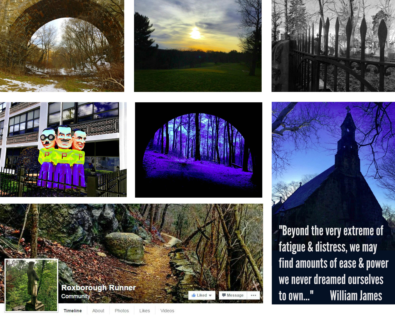 EastFallsLocal Roxborough Runner collage lighter