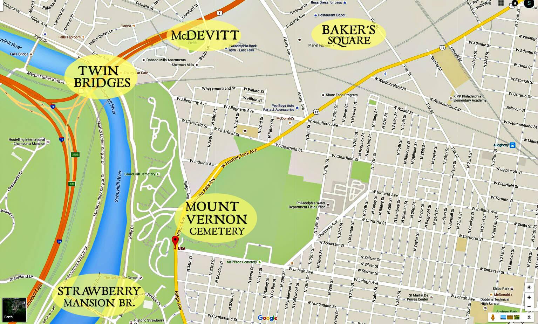 EastFallsLocalmvp map cemetery from hidden city text