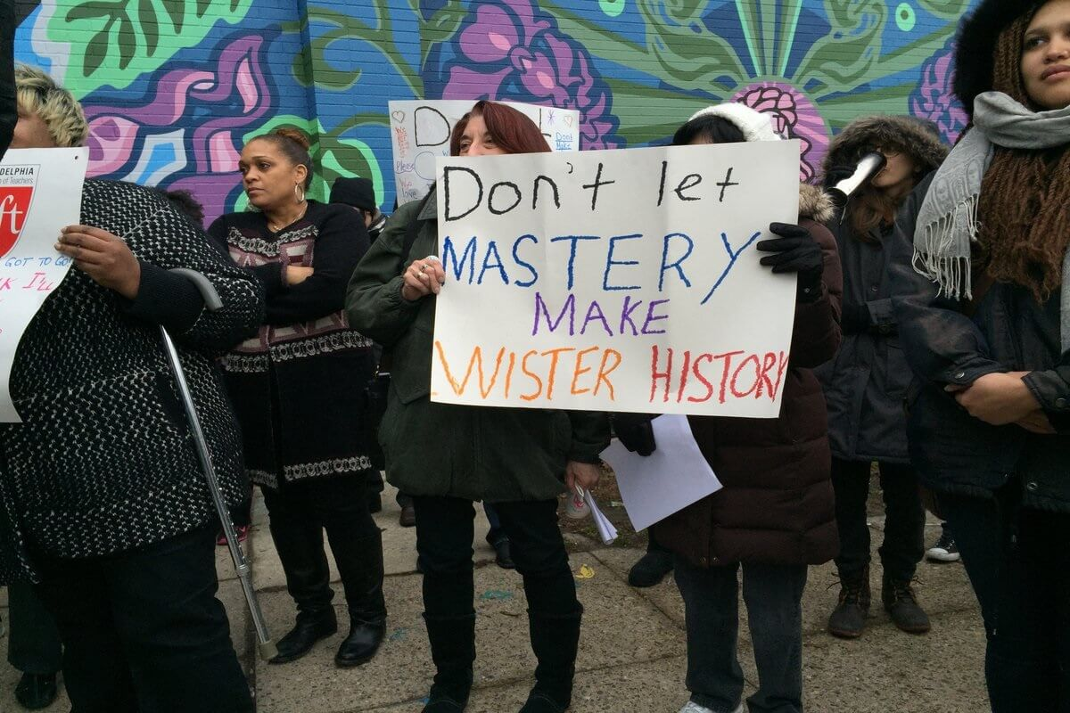 dont let mastery make wister history
